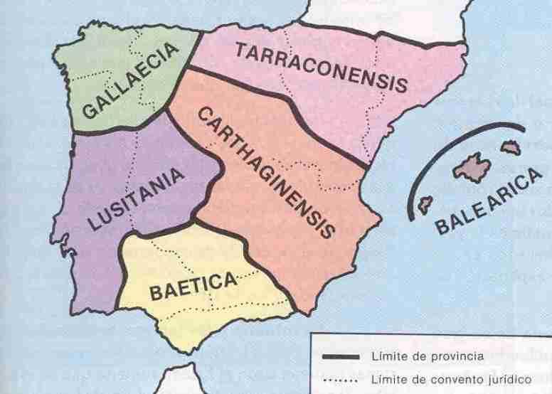 Mapa división de Diocleciano